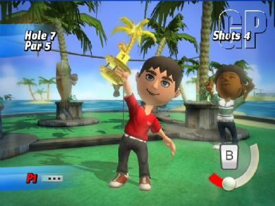 Let's Get Crazy with Crazy Golf for the Wii (WII) - 1471 cg