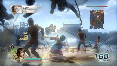 FREE DEMO OF DYNASTY WARRIORS®6 FOR WINDOWS-BASED PC AVAILABLE