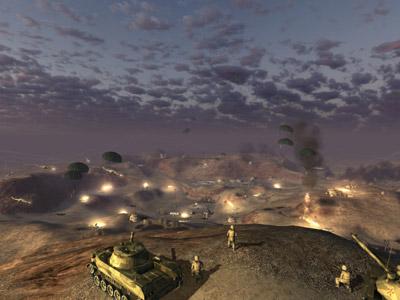 World in Conflict - Trailer and Screen Shots (PC) - 15 wic rus desertdrop
