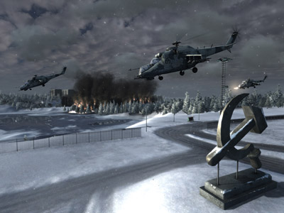 World in Conflict - Trailer and Screen Shots (PC) - 15 wic rus hindsickle