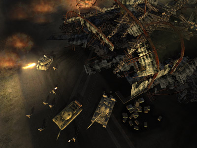 World in Conflict - Trailer and Screen Shots (PC) - 15 wic us basewreck