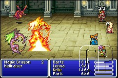 FINAL FANTASY V ADVANCE Launches Across Europe on the Game Boy Advance (GBA) - 23 FF5 07