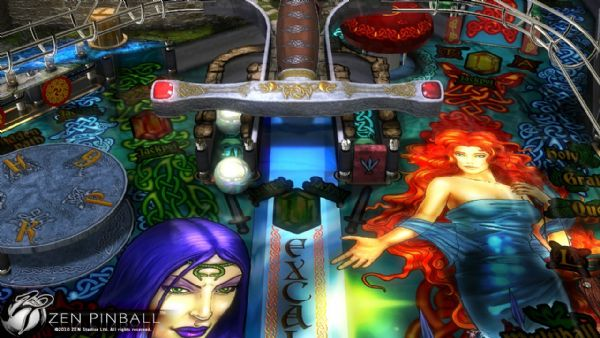 ZEN PINBALL LAUNCHES YET ANOTHER GREAT EXPANSION TABLE WITH EXCALIBUR, AVAILABLE TODAY ON PLAYSTATION®NETWORK