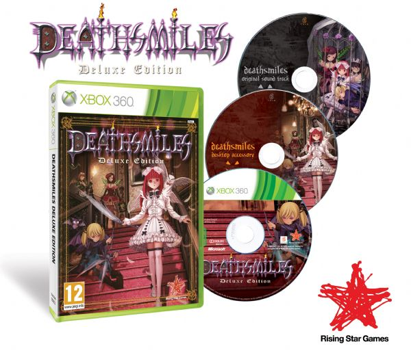 Death Smiles Deluxe Goes Gold (360) - 3393 deathsmiles deluxe edition