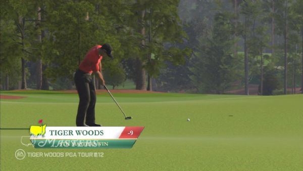 Hit the green for a short while with Tiger Woods PGA Tour 12: The Masters demo