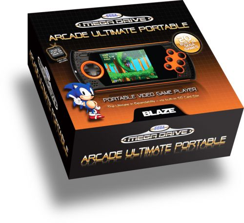 SEGA MEGADRIVE ULTIMATE HANDHELD PORTABLE GAMING CONSOLE – WITH 20 BUILT IN SEGA MEGADRIVE GAMES!