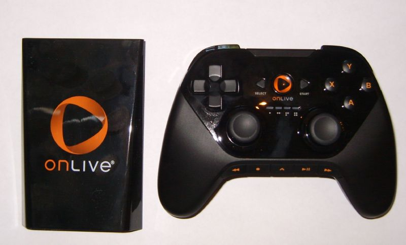 OnLive Console and Controller