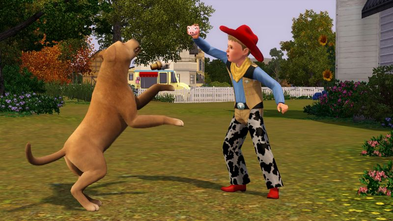Simulated man's best friend comes slobbering onto consoles with 'The Sims 3 Pets' (360, 3DS, PC, PS3) - SP1