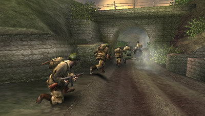 Call of Duty: Roads to Victory (PSP) - 49 CODRTV   Joining the Unit