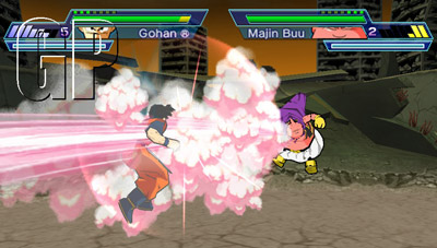 Dragon Ball-Z Shin Budokai 2 (PSP) - 50 Dragon Ball Zshots16249DB