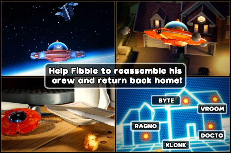 Fibble - Flick 'n' Roll - App stores Game of the Week (IOS) -