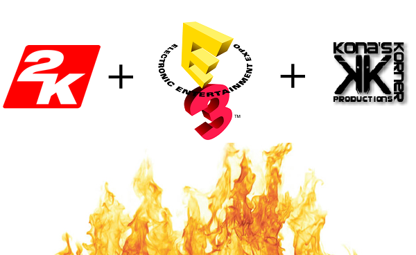 2K Games and Kona's Korner Productions Makes This Summer Sizzle with LIVE E3 Coverage - 1 asset