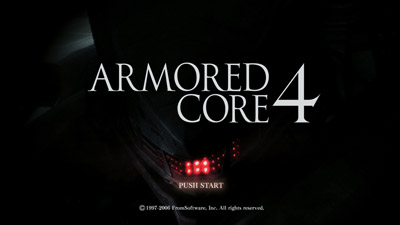 Armored Core 4 Explodes Onto Playstation 3 For The Ultimate Robot Rumble
