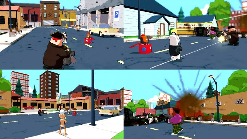 Family Guy: Back to the Multiverse, confirmed release date of 23rd November - 4045FamilyGuy Multiplayer Screen3
