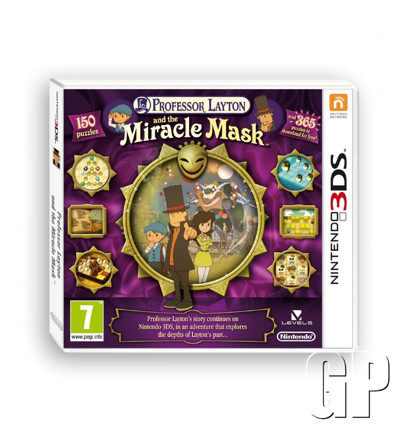 Just in time for Halloween - Professor Layton & the Miracle Mask is now available for Nintendo 3DS (3DS) - 75002 CTR ProfLayton5 PS UKV