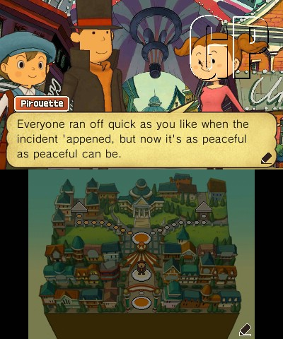 Just in time for Halloween - Professor Layton & the Miracle Mask is now available for Nintendo 3DS (3DS) - 75326 Talking 1 EN