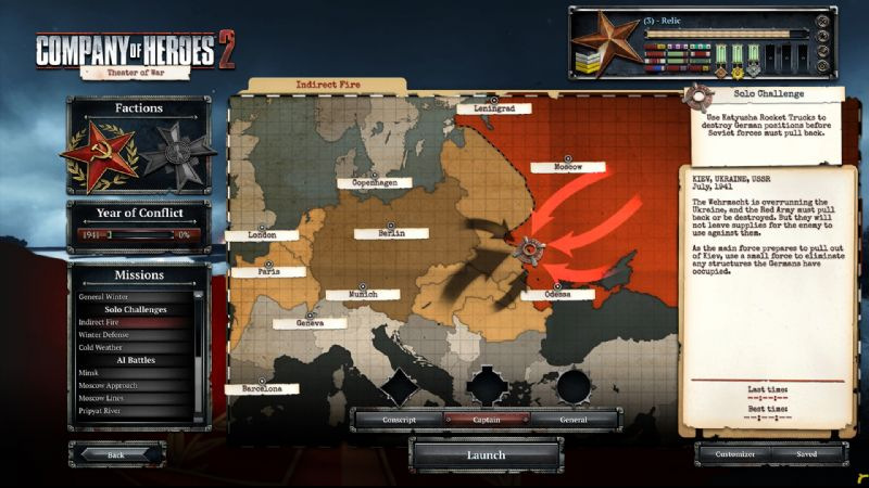 Company of Heroes 2 Unveils Theatre of War Mode (PC) - 27971SS02 Soviet