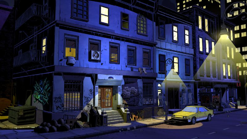 First Screenshots for Telltale Games' Upcoming Series 'The Wolf Among Us' - TheWolfAmongUs 003 Fabletown Environment