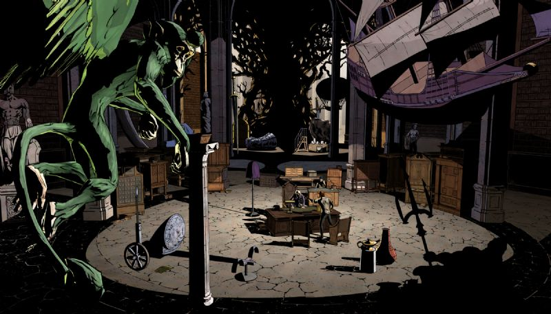 First Screenshots for Telltale Games' Upcoming Series 'The Wolf Among Us' - TheWolfAmongUs 004 Bufkin BusinessOffice