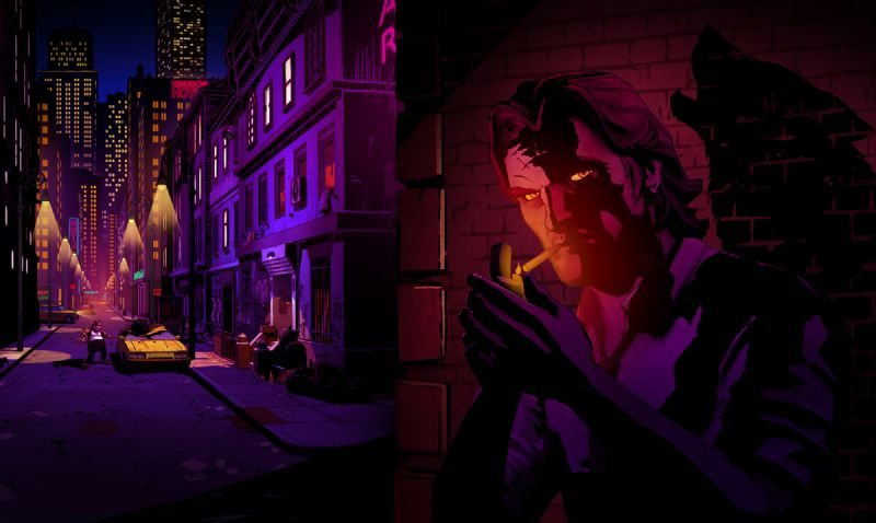 First Screenshots for Telltale Games' Upcoming Series 'The Wolf Among Us' - TheWolfAmongUs 005 BigbyHeroImageArtwork Toad