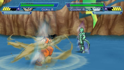 In Dragon Ball Z: Shin Budokai 2