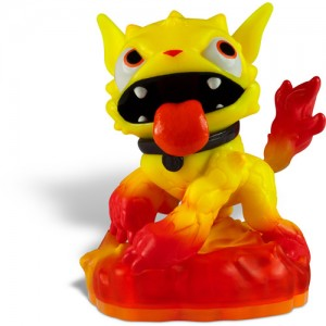 'Skylanders Giants' new character 'Molten Hot Dog' firing off Asda shelves next week. (OTHER)