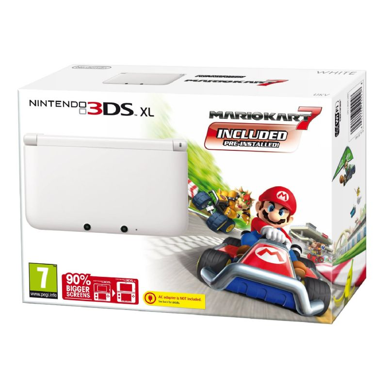 White 3DS XL Review (3DS) - 1285 G21647