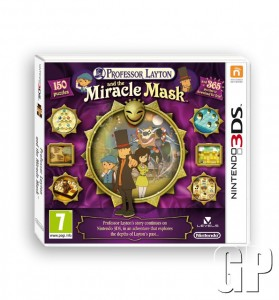 Just in time for Halloween – Professor Layton & the Miracle Mask is now available for Nintendo 3DS (3DS)
