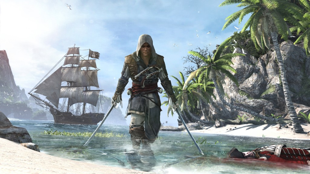 Great new live action trailer for Assassins Creed IV Black Flag - AC4BF SC SP 01 IIconicPose Edward.JPG