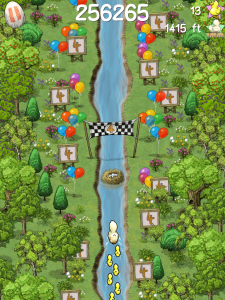 Hotgen Frees Doodle Ducks – the World's First 'endless Paddler' (IOS)
