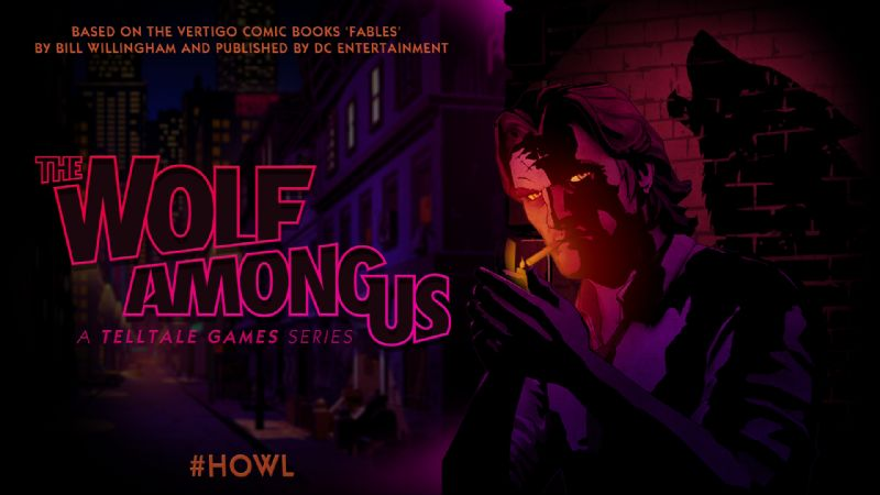 Telltale and DC Entertainment Announce 'The Wolf Among Us' - TWAU REVEAL IMAGE