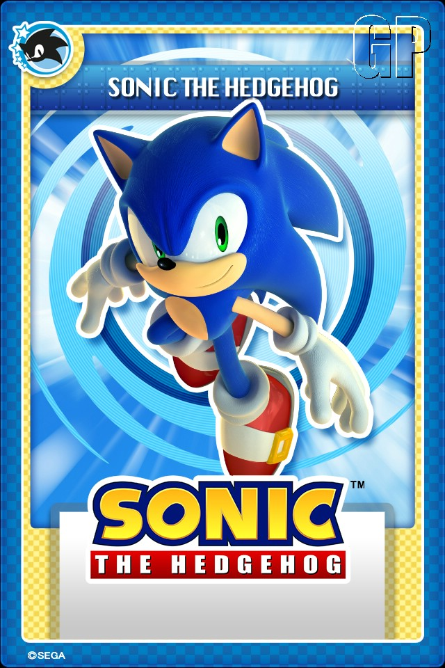 'Sonic the Hedgehog' makes his trading card debut...digitally (OTHER) - 01 SONIC