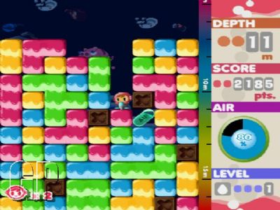 """NAMCO BANDAI Games Brings Classic """"MR. DRILLER Online"""" To Xbox LIVE Arcade This Wednesday (360) - 1011 HOWTO 07"""