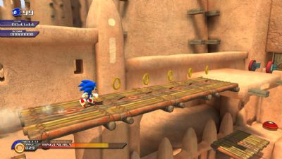 SONIC IS UNLEASHED! (360, PS2, PS3, WII) - 1029 Sonic Unleashed Xbox 360Screenshots1325520080318 100925 000029
