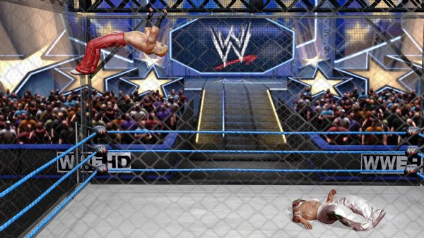 WWE All Stars Review (360) - 1041 OldSchoolMichaelsOffCage