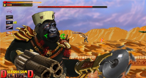Serious Sam Double D Review (PSN) - 1095 ssdd3