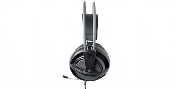 SteelSeries Siberia V2 PS3 Headset Review (PS3) - 1103 SteelSeries Siberia PS3 side mic
