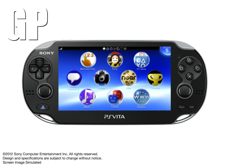 Expect to see many a Vita next to you on the commute home with over 1 million units sold (PSVITA) - 11139PSVITA front SS E