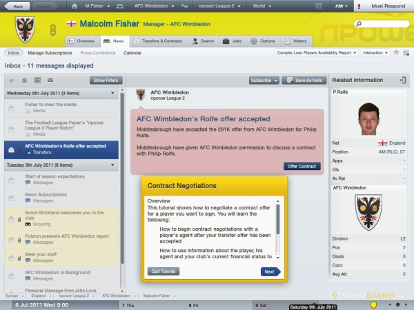 Football Manager 2012 Review (PC