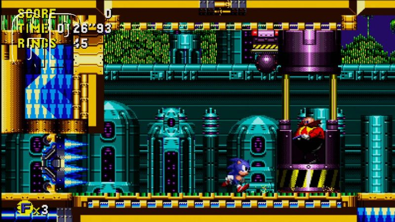 Sonic CD Review (XBLA) - 1140 25045SCD8