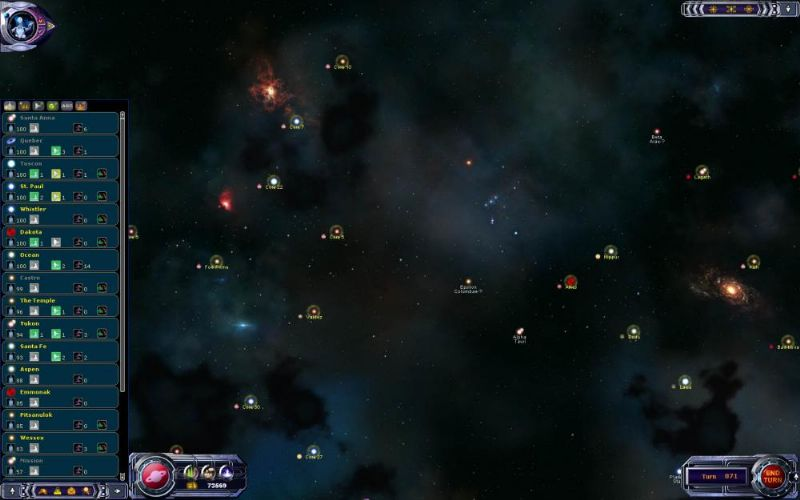 Armada 2526: Gold edition Review (PC) - 1165 139862 star map medium zoom 4 medium