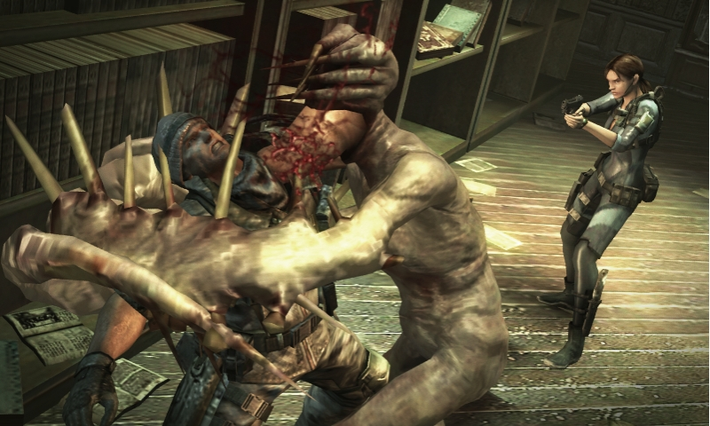Resident Evil: Revelations Review (3DS) - 1173 Raid Mode 009 bmp jpgcopy
