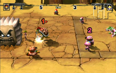 Mario Strikers: Charged Football (WII) - 119 SMS Screenshot10 Mar01