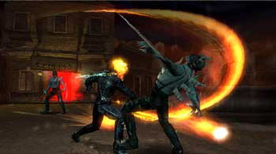 Ghost Rider Review (PSP) - 123 ghostriderpsp