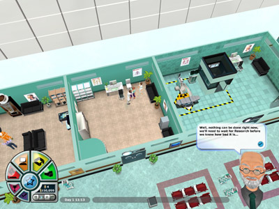 Hospital Tycoon, everyone's favourite medical drama, premieres Episode One trailer video. (PC) - 123 hospital tycoon05
