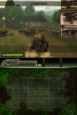 Brothers in Arms for DS and Wii (DS, WII) - 125 BIA DS Jeep Screen 9