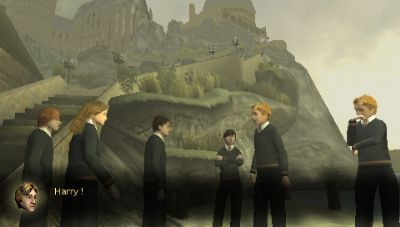 Harry Potter and the Order of the Phoenix Review (PSP) - 168 HPOPHpspSCRNwwStudents bmp jpgcopy