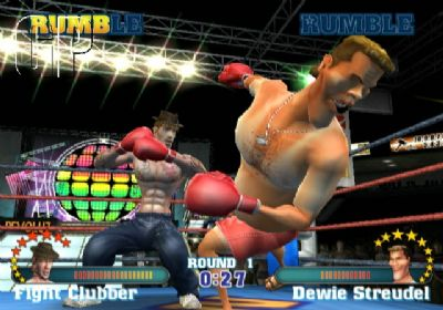 'READY 2 RUMBLE: REVOLUTION' BOXERS GET READY TO WEIGH IN (WII) - 1808 Ready 2 Rumble  Revolution WiiScreenshots23569Match 04