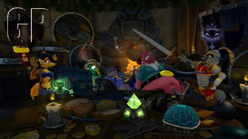 Sly Cooper warps into the past and into pockets in 'Sly Cooper: Thieves In Time' (PS3, PSVITA) - 20458EnglandHideout01