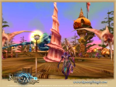 Runes of Magic Chapter II Launches in September (PC) - 2069 RunesofMagic WeepingCoast 04